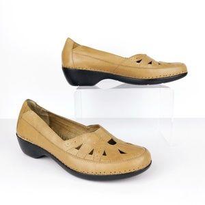 Easy Spirit Dixiee Leather Flats Womens 7.5 SB